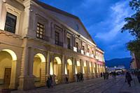 Municipal Palace, San Cristobal de las Casas, Chiapas, Mexico.