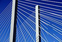 21st Street suspension bridge, Tacoma, Washington.