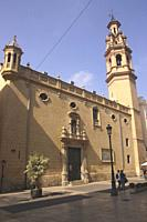 San Lorenzo Church, Valencia, Spain.