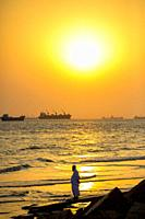 Patenga is a sea beach located 14 kilometres south of the port city of Chittagong, Bangladesh. It is near the mouth of the Karnaphuli River. Patenga i...