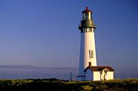 Yaquina Head Lighthouse, Yaquina Head Outstanding Natural Area, Oregon.