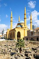 Mohammed al-Amin Mosque in Beirut, Lebanon.