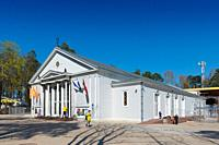 Dzintari concert hall, Jurmala, Latvia.