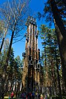Tower in Dzintari park, Jurmala, Latvia.