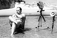 Crazy movie director.