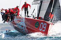 Provezza, #09, Owner: Ergin Imre, Sail nr: TUR1212, Yacht Club TAYK - Istambul, Builder: Persico; Rolex TP 52 World Championship, TP52 Super Serires, ...