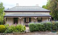 Victorian-era home at Angaston, Barossa Valley, South Australia. The Barossa Valley is an old-established wine producing region.