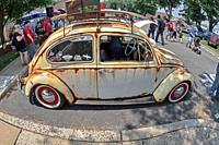 Legendary Volkswagen Beetle, Antique car show, Northeast Philadelphia, PA, USA