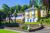 Portmeirion, Gwynedd, Wales, United Kingdom, Europe.