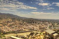 HDR image of the Spanish city of Lorca Murcia Spain.