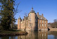 Castle Slangenburg near Doetinchem in the Dutch region Achterhoek.
