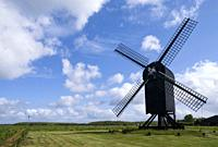 Standerd mill Ter Haar near Ter Apel in the Dutch province Groningen.