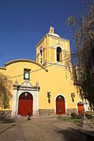 View to the Templo De La Merced- La Merced Church at the historic center, La Paz, Bolivia, South America.