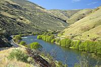 Deschutes Wild and Scenic River, Lower Deschutes National Back Country Byway, Oregon.
