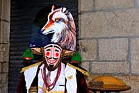 Felo, ancestral mask of Maceda territory, Maceda, Orense, Spain