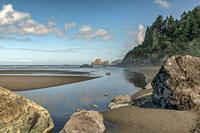 Moonstone Beach along Costal Highway 101, Trinidad CA, USA.