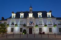 City council of Linas, Essonne, France.