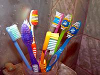 Bathroom accessories for hygiene toothbrushes.