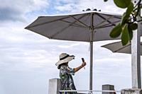 ai Tranh beach, popular tourist destinations at Nha Trang. Vietnam