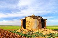 Old dovecote. Villarrín de Campos. Tierra de Campos region. Zamora province. Castilla y León. Spain