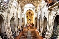 Convento de San Esteban in Salamanca, Spain. A Dominican monastery, the Convento de San Esteban (Saint Stephen) was built in 1524 on the initiative of...