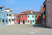 Burano, Venice, Veneto, Italy, Europe.