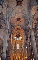 Church Santa María del Mar in Barcelona.