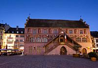 City hall, Mulhouse, Haut-Rhin, Grand Est, France.