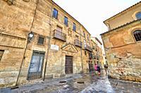 CAsa de Miguel de Unamuno en Salamanca, Salamanca City, Spain, Europe.