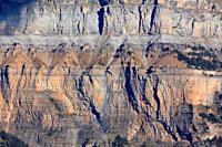 Rocky walls over the Ordesa valley. Ordesa y Monte Perdido national park. Huesca.