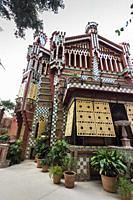 Casa Vicens, 1885, by Antoni Gaudí. Barcelona.