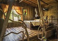 Rustic Room-Pedacito De Ceilo Eco Lodge, San Carlos, Costa Rica.