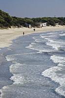 Ses Salines Beach. Ibiza Town, Balearic Islands, Spain.