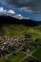 Alp, Cerdanya, Catalunya - Aerial