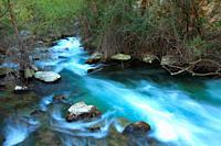 Closed of the Castril river. Sierra Castril natural park. Granada.