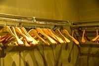 Clothes rack, empty