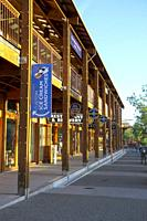 Shops at Heavenly Village, South Lake Tahoe, California, United States.