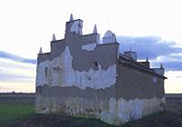 Traditional dovecote. Villafafila, Zamora province, Castilla Leon, Spain.