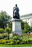 Stockholm is the capital and largest city of Sweden Baron Jöns Jacob Berzelius statue.
