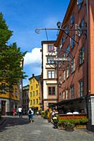 Old Town tourist destination in Stockholm is the capital and largest city of Sweden.