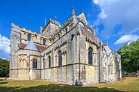 Romsey Abbey, Hampshire, United KIngdom, Europe.