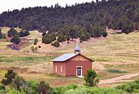 family chapel, rural New Mexico.