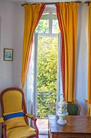 A small, delightful and historic hotel once home to Renoir greets vistors who come to Grasse, France and stay at the Hotel la Bellaudere.