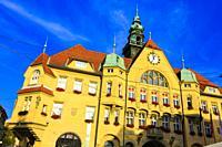 Town Hall. Ptuj. Styria region. Slovenia, Europe.