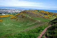 Arthurs Seat (Holyrood Park) in Scotland.