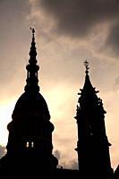 Dome of the San Gaudencio Basílica. Novara. Italy.