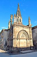 Cemetery of Pueblo Nuevo in Barcelona.