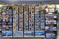 Shop for tourists in Sougia, Crete, Greece