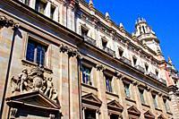 Post Office building, Barcelona, Catalonia, Spain