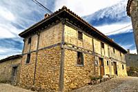 Rural house in Calatañazor. Soria. Castilla León. Spain. Europe.